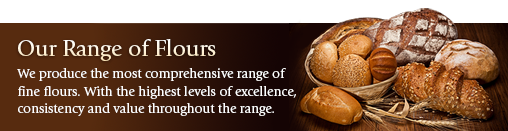 Heygates produce the most comprehensive range of flours. Whichever you choose, you can expect the highest levels of excellence, consistency and value